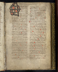 Ropework Initial, In A Volume Of Miscellaneous Prose And Verse Theological Texts(011ADD000030512U00036000)